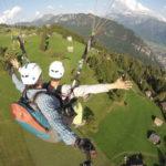 Volare in parapendio a Bergamo.