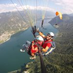 Tandem paragliding in Lombardy